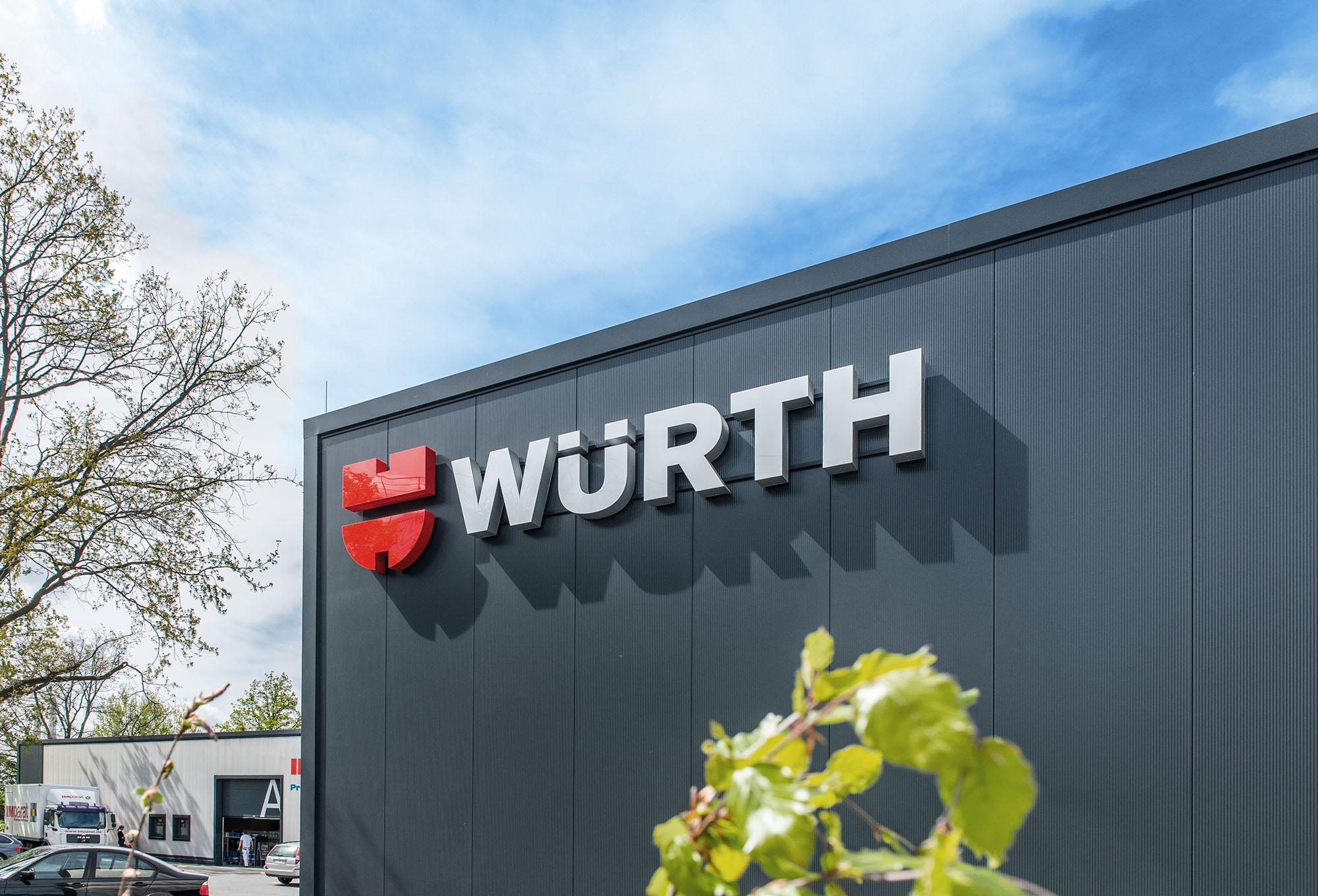 Wir begrüßen Adolf Würth